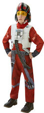 Star Wars Episode VII X-Wing Fighter Poe Deluxe NEU - Jungen Karneval Fasching V
