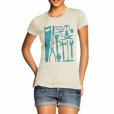Twisted Envy Women's Tools of Mass Construction Organic Cotton T-Shirt