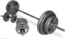 TNP Tri-Grip Cast Iron Barbell Weight Disc & Barbell Set-from 50kg-104kg