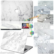 Luxury Skin White Marble Painted Hard Case cover For Macbook Pro 13 15 Air 11 12