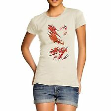 Twisted Envy Women's Blood Slasher Organic Cotton T-Shirt
