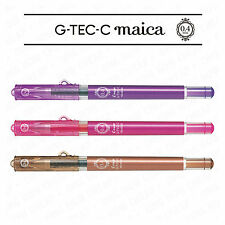 PILOT G-TEC-C MAICA ULTRA FINE TIP ROLLERBALL PEN [Pack of 3] by Colour or Mixed