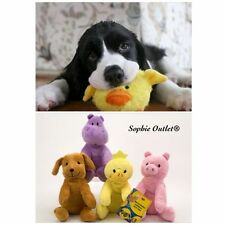 Plush Pet Squeaker Toy Dog Cat Puppy Chew Sound Squeaky Play Fetch Training Toys