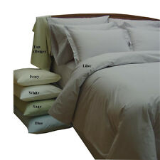 Tan(Beige) Percale 10-Piece Egyptian cotton Down Alternative Bed in a bag
