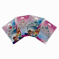 DISNEY PRINCESS TIARA CINDERELLA ELSA ANNA CHOOSE CHARACTER GIRLS FANCY DRESS