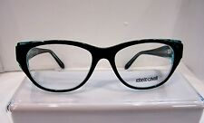 NEW ROBERTO CAVALLI MAUPITI 685  COLOR 05A BLACK PLASTIC EYEGLASSES FRAME 53MM
