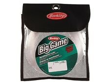 Berkley Big Game Mono Leaders / 100m/110yds / Clear / monofilament
