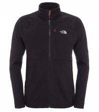 The North Face Herren Fleece Jacke M200 Shadow FZ Black