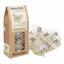 15 30 50 Pack Teapigs Fennel And Liqourice Teabags Temples Herbal Infusion NEW