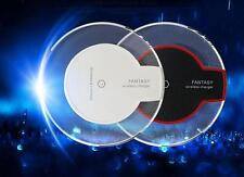 2015 LED Qi Wireless Power Charger Charging Pad Or Receiver Case For IPhone 6