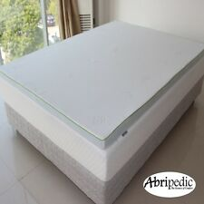 "Abripedic 2.5"" Gel Memory Foam Mattress Topper, 5 Sizes Available"