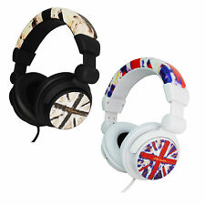 Urbanz Camden Fashionable DJ Style Foldable Stereo Headphones iPod iPhone PC MP3