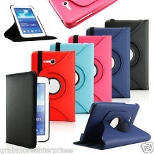 360°PU Leather Flip Case Cover For Samsung Galaxy Tab 3 Neo T111 T110 Flip Cover