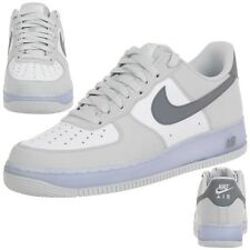 Nike AIR Force 1 Leder Sneaker Lifestyle Schuhe weiß Men 488298 069