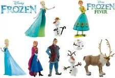 Disney Frozen And Frozen Fever Figurines, 8 To Choose Bullyland