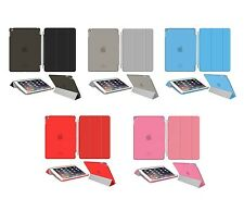 CUSTODIA IPAD AIR 2 PER SMART COVER APPLE PIEGHEVOLE BACK CASE MAGNETICA SLIM