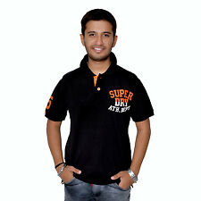 New Imported Superdry Super Dry ATH Dept. Mens Polo Matty Cotton Fabric T-Shirt