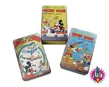 CLASSIC OFFICIAL DISNEY MICKEY MOUSE METAL KITCHEN BEDROOM STORAGE TIN 20 x 13cm