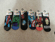Mens Marvel Comic Socks Size 6/11