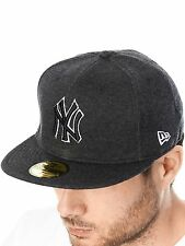 New Era Black New York Yankees Jersey Top Fitted Cap