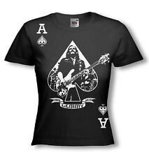LEMMY T-SHIRT - Ace of Spades MOTORHEAD tribute - NEW lady fit FOTL / ALL SIZES