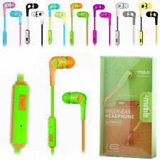 Genuine in Ear High Performance Headphone Earphone With Mic For iPhone,iPod,MP3