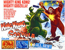 King Kong vs Godzilla - 1962 - Movie Poster