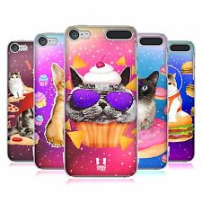 HEAD CASE DESIGNS REAL CATS IN ARTIFICIAL SPACE CASE FOR APPLE iPOD TOUCH MP3