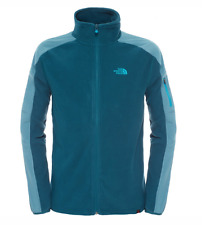 The North Face Herren Fleecejacke  Glacier Delta FZ  Depth Green Hydro Green