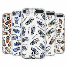 HEAD CASE DESIGNS SOLE TRAVELLER SOFT GEL CASE FOR APPLE iPOD TOUCH MP3