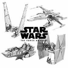 Metal Earth Star Wars Episode 7 3D Laser Cut Metal Miniature Model Kits Build