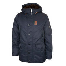 Vintage Industries Giacca Mitchel Parka Giacca Invernale Uomo blu navy