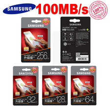 Genuine 128GB 64GB 32GB 16GB Samsung EVO PLUS Micro SD SDXC CLASS10 Memory Card