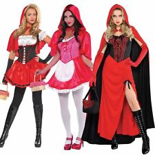 Ladies Little Red Riding Hood Fancy Dress Costume Storybook Adult Book Week Day