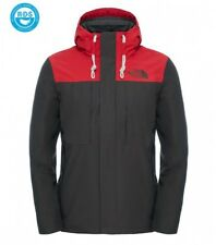 The North Face Giacca Invernale Uomo Himalayan Black Ink Green/Tnf Red