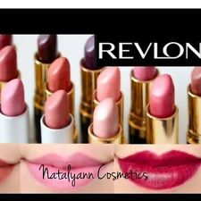 REVLON SUPER LUSTROUS LIPSTICK PEARL CREME,NEW & SEALED amazing shades FREE P&P