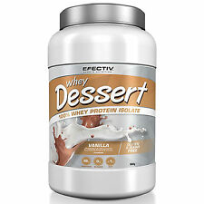EFECTIV SPORTS WHEY DESSERT 100% WHEY PROTEIN ISOLATE ALL FLAVOURS