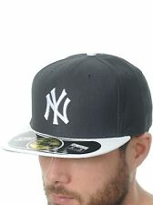 New Era Black-White Diamond 59Fifty New York Yankees Fitted Cap