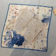 John Galliano foulard twill gazette