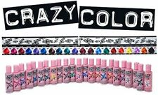 Crazy Colour pack of 8 - value pack, Semi Permanent Hair Dye