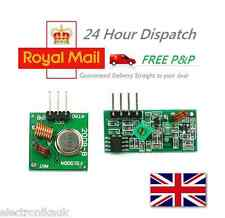 433MHz RF Transmitter & Receiver pair wireless kit for Arduino Remote Control