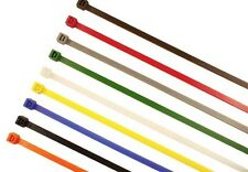 Cable Ties Various Sizes Strong ✔ Black Natural & Coloured Zip Tie Wraps 100's ✔