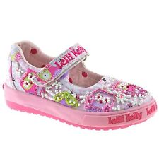 Lelli Kelly Infant Owl Baby Dolly Shoes Pink Fantasy LK9046 (BC02) + Free Gift
