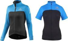 Adidas Wmns SUPERNOVA CYCLING Wear short+long sleeve Black blue UK0-2 to 20-22