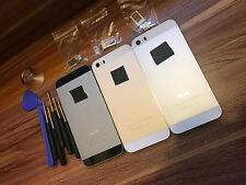 ALLOY METAL REPLACEMENT BATTERY HOUSING BACK COVER CASE FOR APPLE IPHONE 5S
