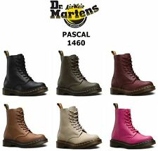 Dr Martens Ladies Pascal Virginia Soft Nappa Leather 8 Eye 1460 Ankle Boots