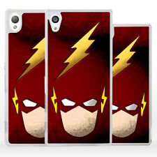 Hard case Superhero FLASH Cover rigida per Sony Xperia X Z Compact M E C T Ultra