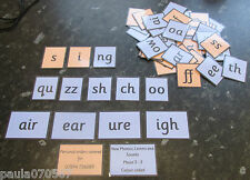 Phase 2 - 3 Phonics Letters and Sounds all colour coded. Words & Sounds Teaching