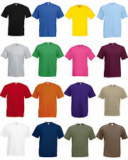 T-shirt Fruit of the Loom Valueweight Unisex 61-036 - 100% cotone Belcoro 165 Gr
