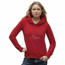 Women's Congratulations Mum I Turned Out Perfectly Rhinestone Diamante Hoodie
